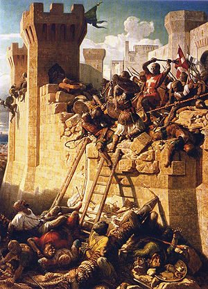 3rd crusade the seige of acre shoeing in middle ages