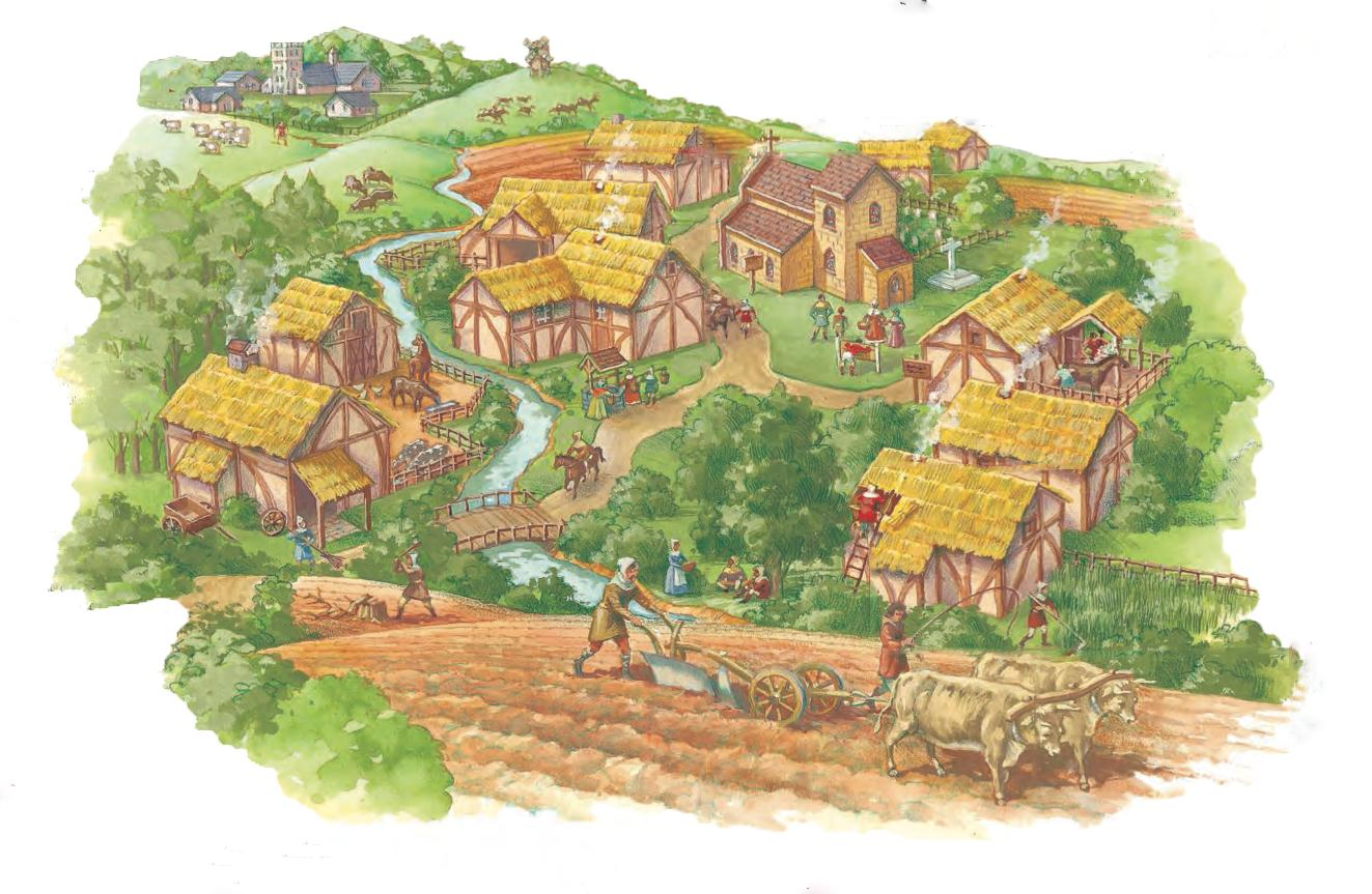 The Feudal Manor The Feudal Manor Contains A System Of Go