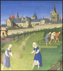 Serfs Were Peasants That Were Bound Under The Feudal System To Work On His  Lordu0027s Estate. Serfs Were Given Work Like Slaves But They Were Not Slaves.