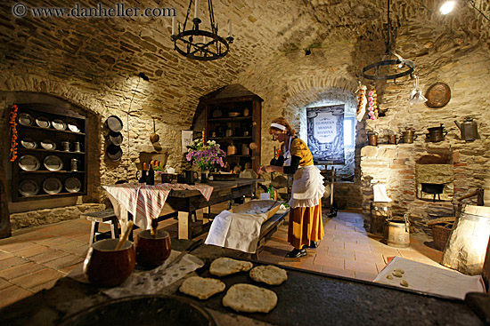 Buttery Shoeing In Middle Ages - Medieval Kitchen Design